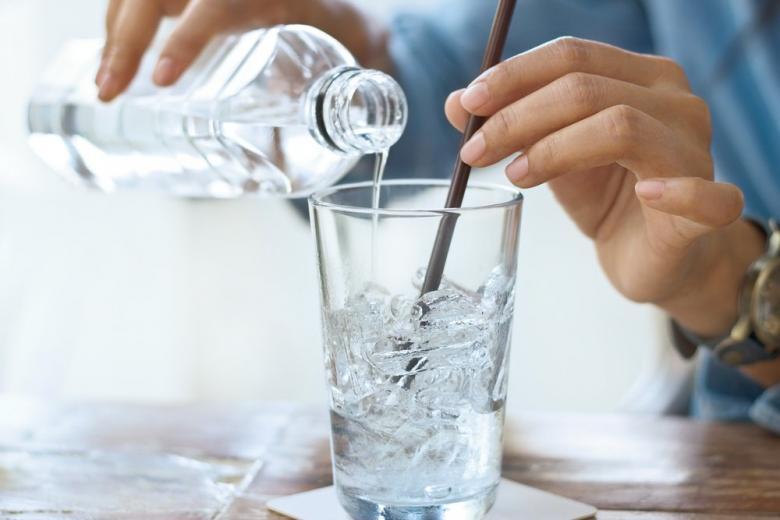 стакан ледяной воды