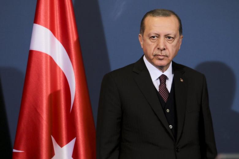 За 2 дня в Висбадене успели соорудить и снести статую турецкого президента фото 1