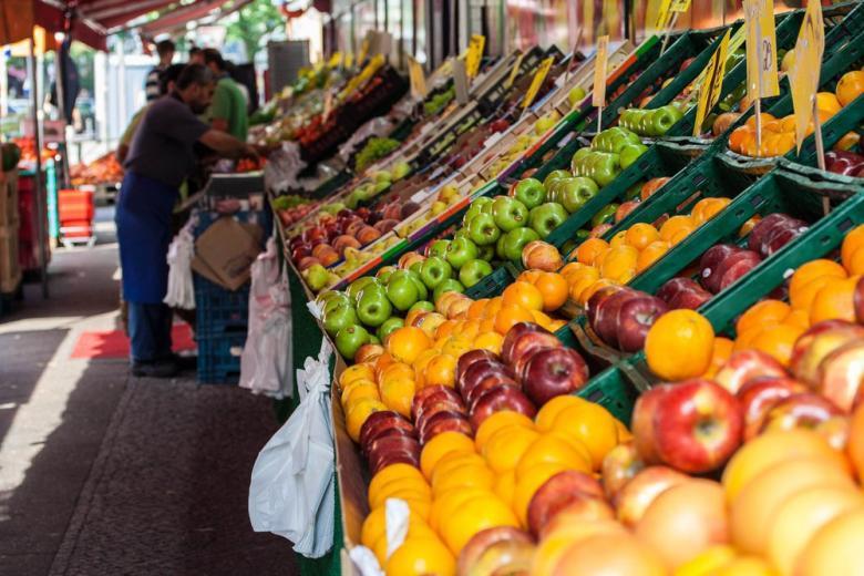 fruit mareket in Berlin