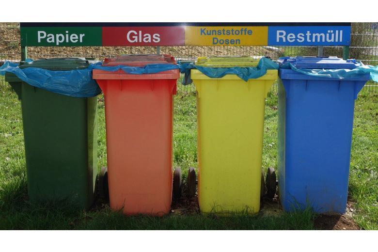 мусорные баки в Германии