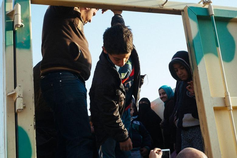 В Сааре пятерых беженцев нашли в холодильнике: никто не пострадал фото 1