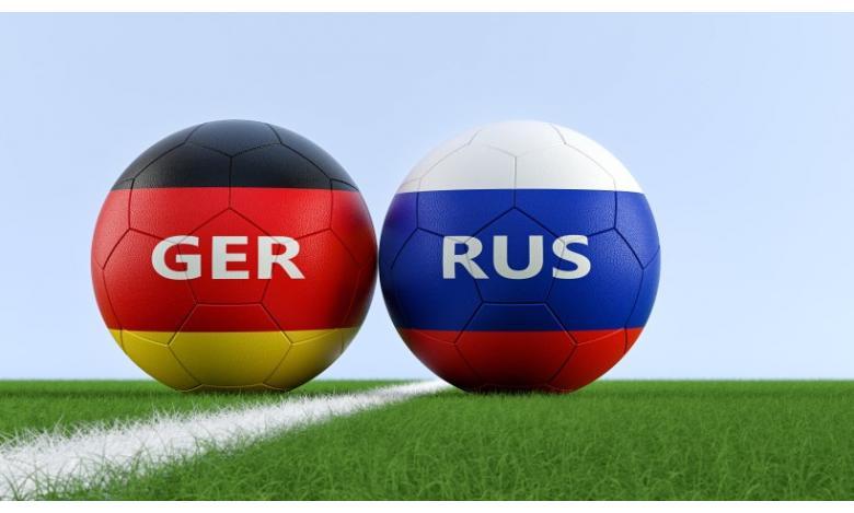 football Germany Russia