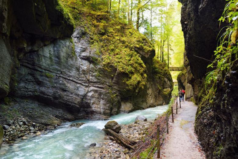 Мечта путешественника: красивейшие ущелья в Германии фото 1