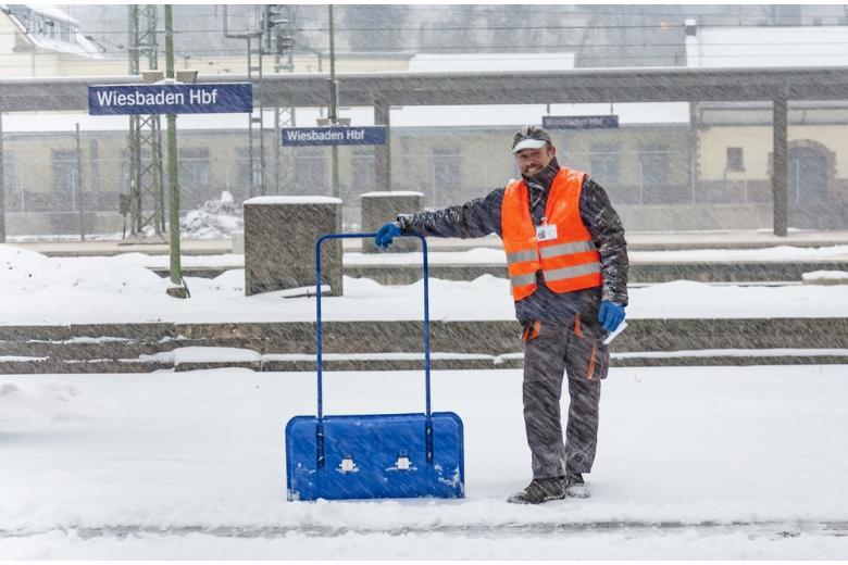 Уборка снега в Германии