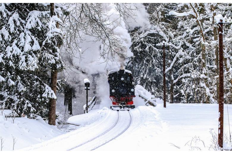 Train to the Brocken mountain