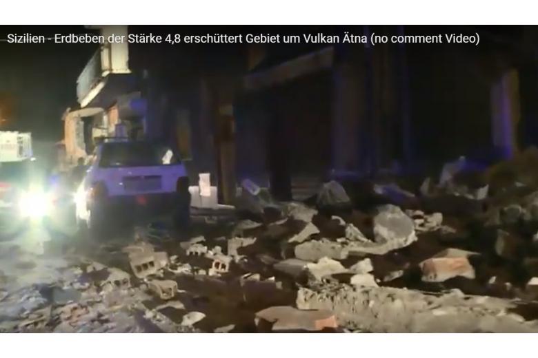 Мощное землетрясение на Сицилии: разрушены здания, десятки пострадавших фото 1