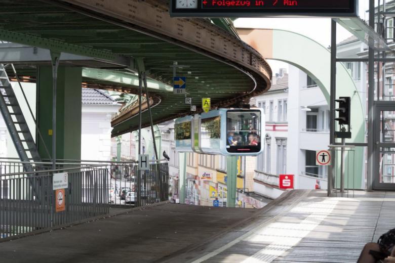 Подвесную железную дорогу в Вуппертале закрывают фото 1