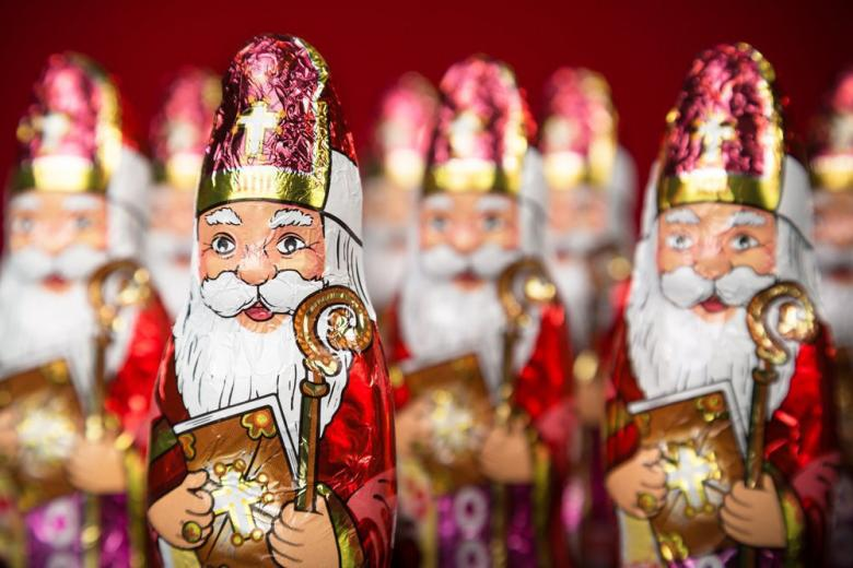 Все в шоколаде: в продажу поступило 145 млн. сладких Николаусов фото 1