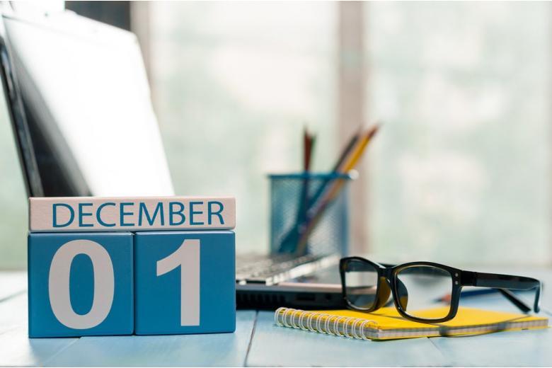 декабрь, календарь