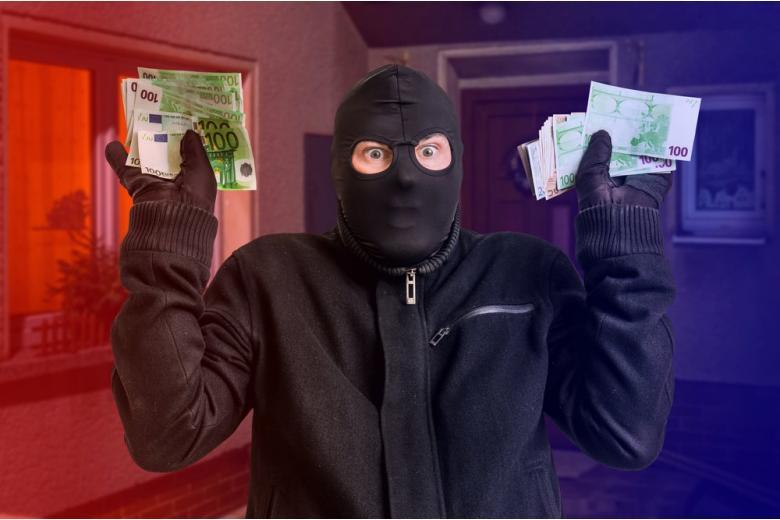 Лайфхак от немцев: как обезвредить грабителя банка фото 1