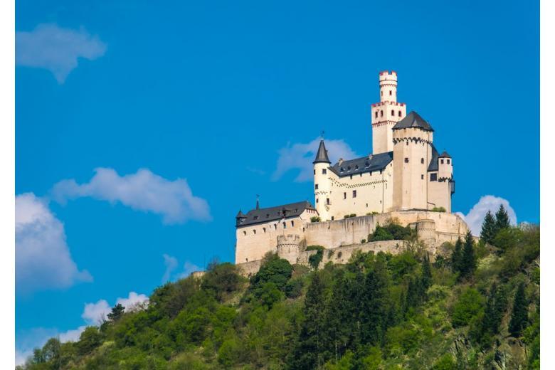 Марксбург – особенности средневекового замка в Германии фото 1