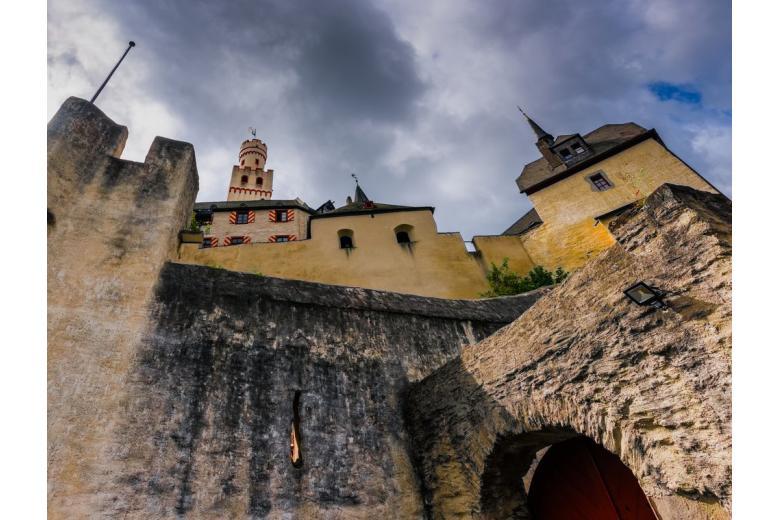 Марксбург – особенности средневекового замка в Германии фото 2