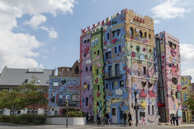 Дом Рицци – «сказочный» дом в Брауншвайге фото 1