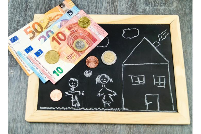 деньги для детей в Германии