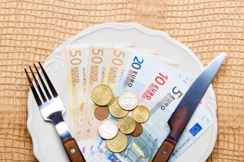 Нехватка денег на питание в Германии