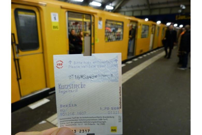 Метро-общественный транспорт в Германии