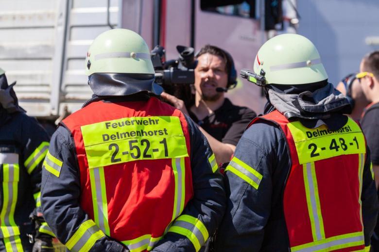 В Рейнланд-Пфальце горел поезд и взрывались дезодоранты фото 1