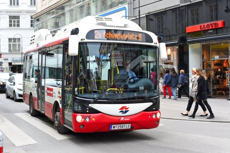 электроавтобус в Гамбурге