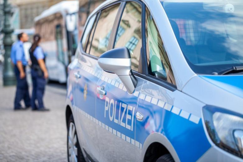 Полицейская машина в Германии