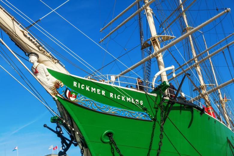 парусник Rickmer Rickmers