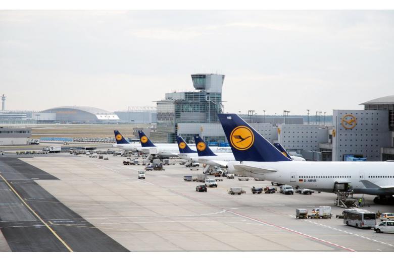 Терминалы аэропорта Франкфурт