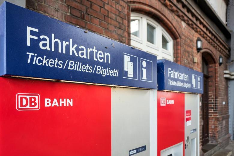 Автомат для билетов Deutsche Bahn