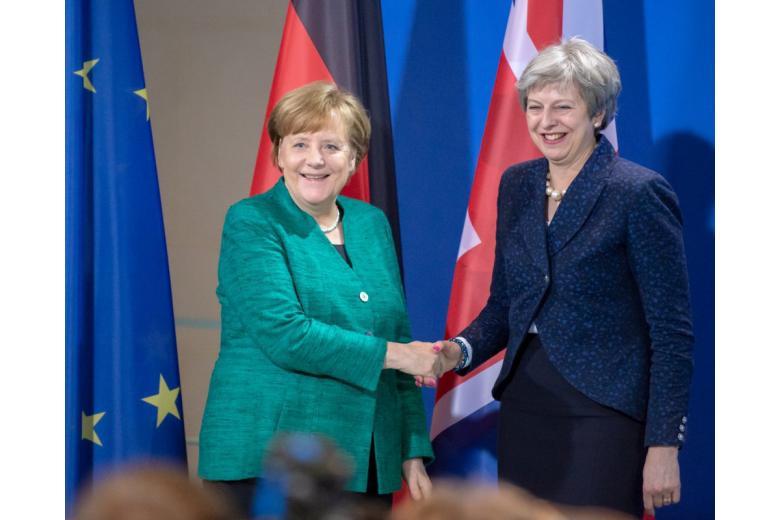 ангела Меркель и Тереза Мэй