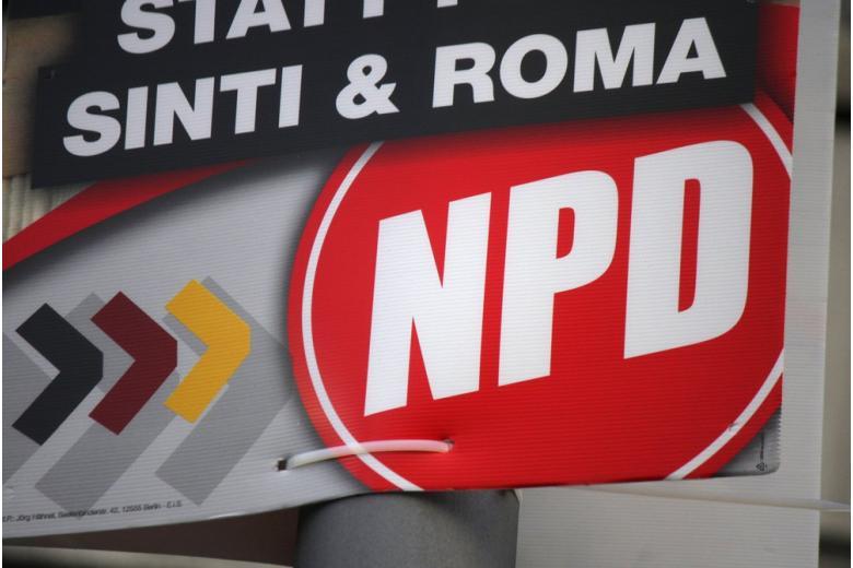 реклама партии NPD