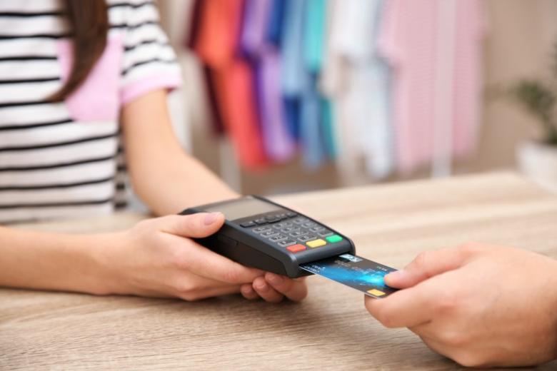 оплата покупки через карту