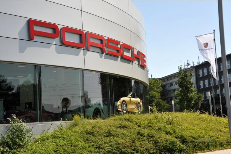 Office of Porsche in Essen, NRW