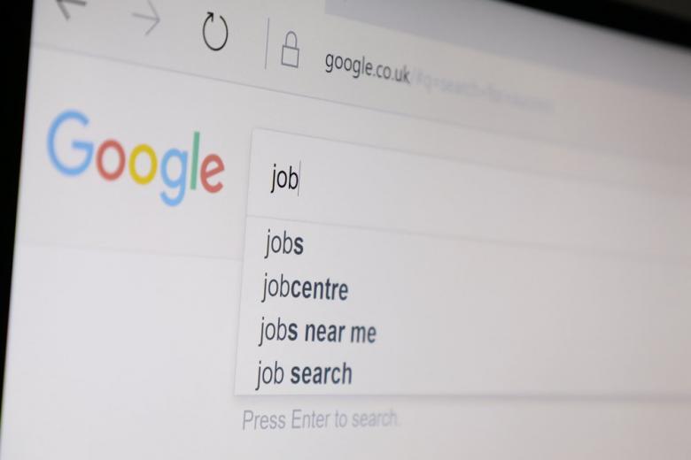 google job searching