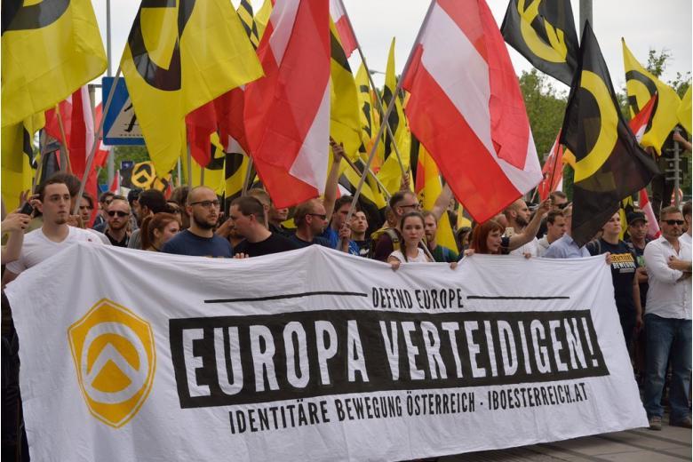 """Митинг организации """"Движение за идентичность"""""""