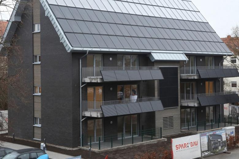 «Самодостаточный» дом в Вильгельмсхафене в Нижней Саксонии. Фото: Spar and Bau.