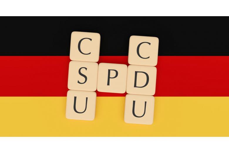 Флаг Германии ХДС/ХСС СДПГ