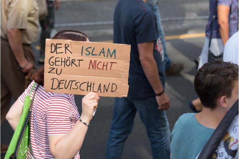 протест против мусульман