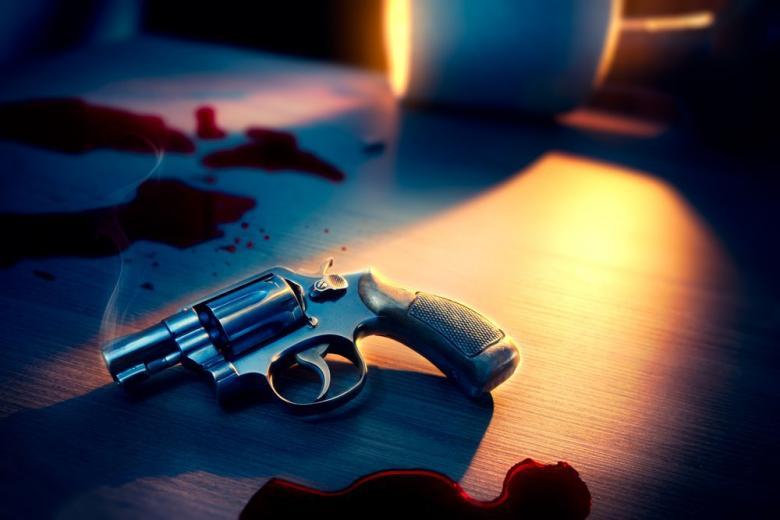 выстрел оружие пистолет