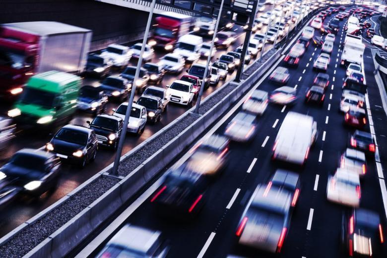 автомобили на дорогах в Германии
