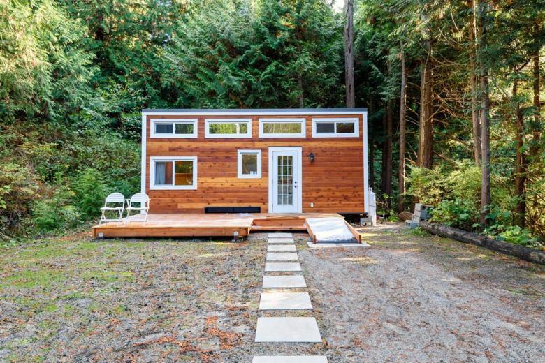 Деревянный Tiny House