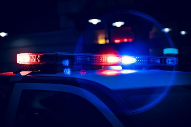 Полицейская мигалка на авто