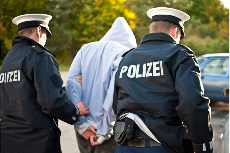 полиция арестовала преступника