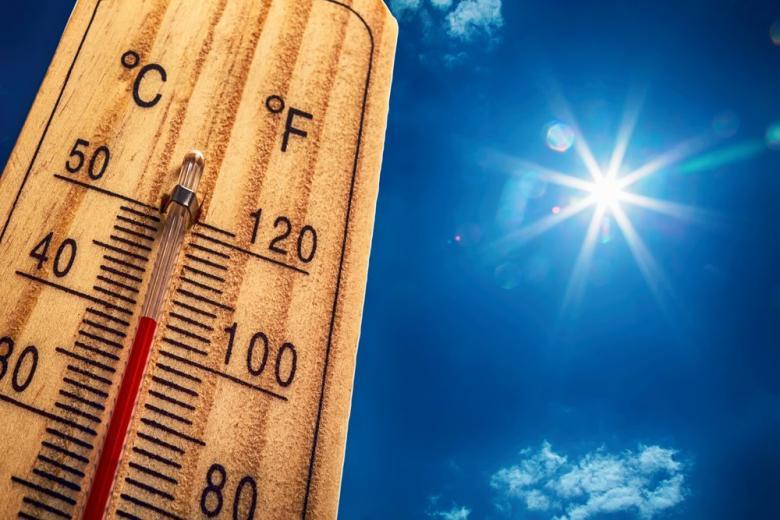 Солнце термометр