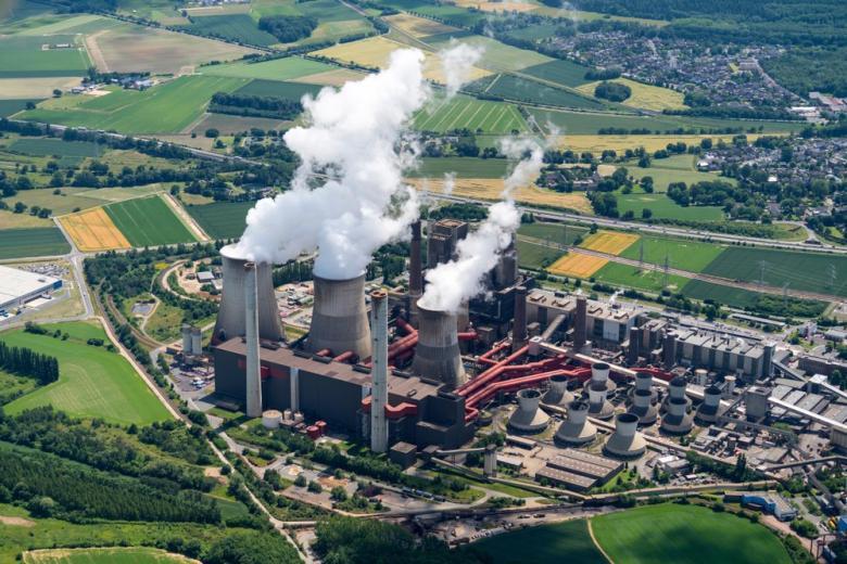 Электростанция в Аахене на угле