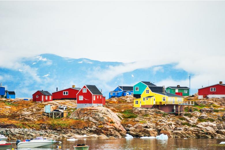 Побережье Гренландии