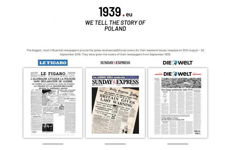 Три издания с заголовками 1939 года