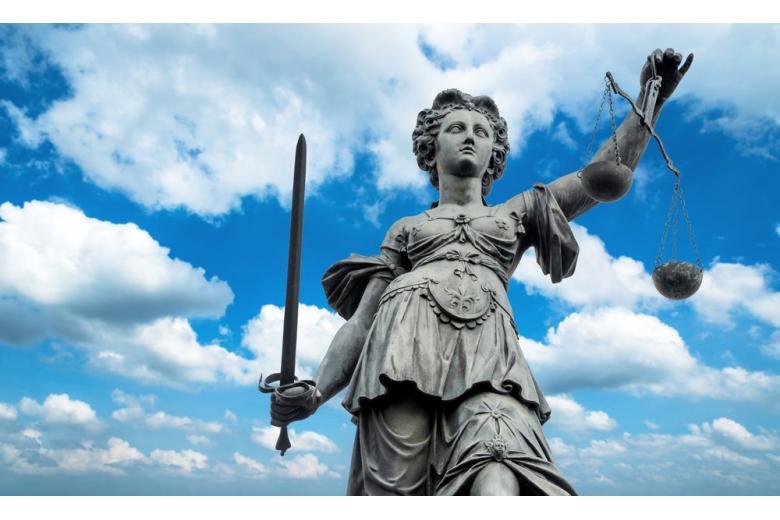 Фонтан правосудия во Франкфурте