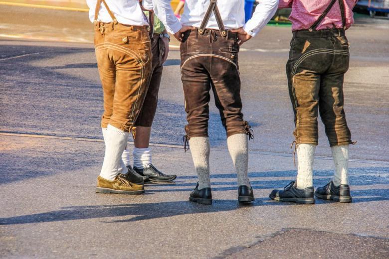 Ледерхозе: история баварских штанов фото 3