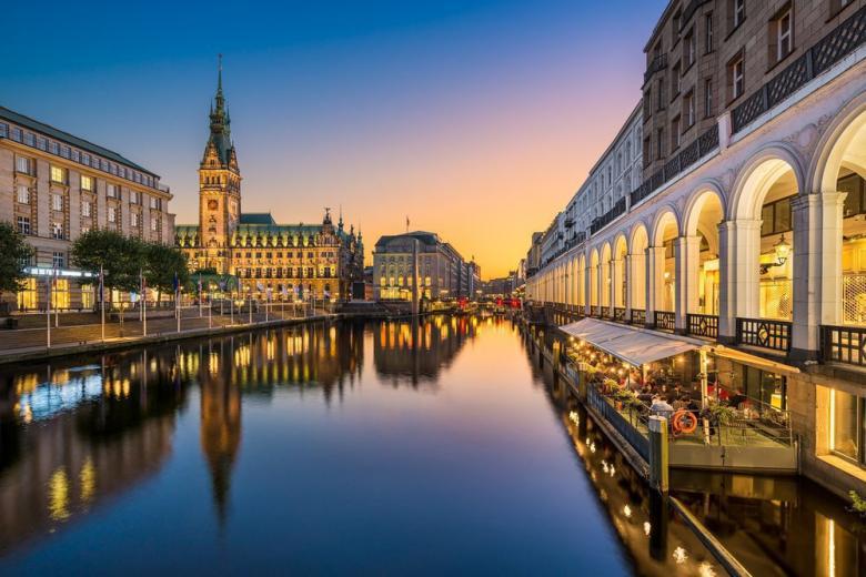 Центр Гамбурга