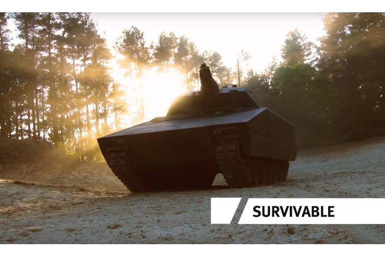 Немецкая БМП станет беспилотным танком для США фото 1