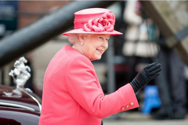 Королева Великобритании Елизавета II