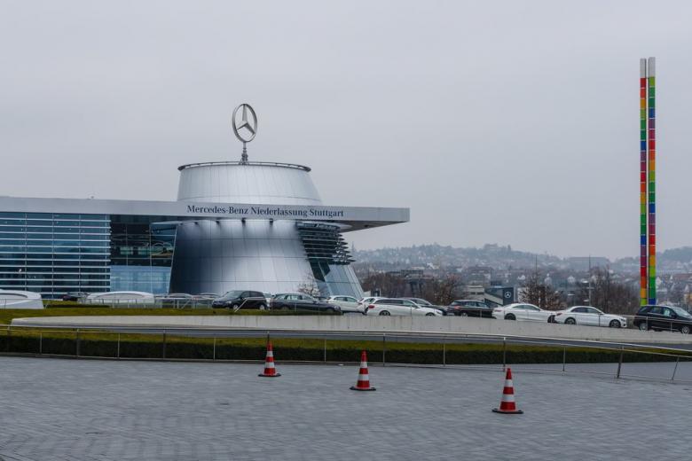 Офис Daimlerв Штутгарте